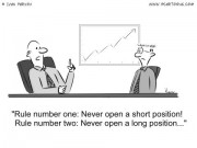 Stock Market Cartoon #0018 - Stock Market Rules