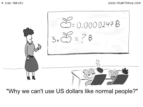 Finance Cartoon #0027 - Why we can't use US dollars like normal people?
